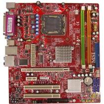 Kit Placa 775 + Ms-7267+core2duo+ Ram 2gb + Cooler+espelho