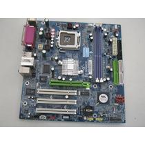 Placa Mãe Gigabyte Ga-8vm800m-775 Ddr Dual Core Socket 775