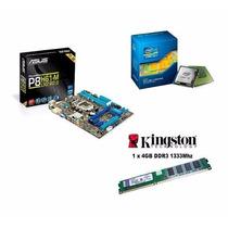 Kit Intel Core I3 4150 3,50ghz+ Asus H81m Lga1150 + Ddr3 4gb