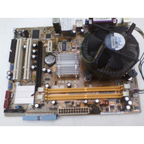 Kit Placa Mãe Asus P5gc-mx Ddr2 Sata Fsb 1333