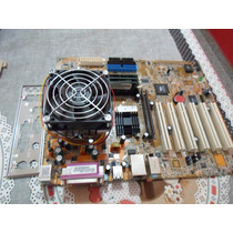 Kit Placa Mãe Asus A7v8x-x Skt 462 + Athlon 2200 + 1gb Ram