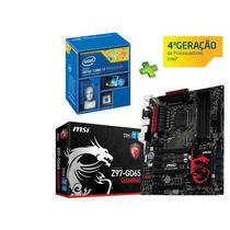 Kit Gamer Intel I7 4790k + Msi Z97-gd65 Gaming Ddr3 3300mhz