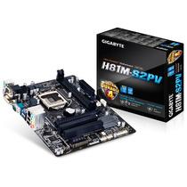 Placa Mae Lga 1150 Intel Serie 8 Gigabyte Ga-h81m-s2pv Matx