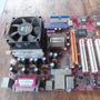 Placa Mãe Pcchips M960gv + Pentium 4 2,66 Ghz + Cooler