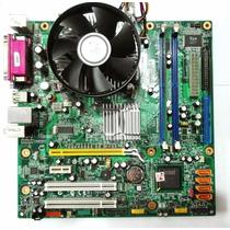 Kit Placa Mãe Lenovo 775 Ddr2 Dual Core E5200 2.50ghz 2gbram