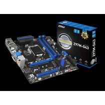 Placa-mãe Msi Micro Atx P/ Intel Lga 1150 Z97m-g43 C/ Hdmi