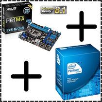 Kit Asus Dual Core - Placa Mãe + Intel G2030 3.00 Ghz Box