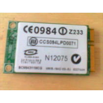 Placa Wireless Wifi - Not Hp Pavillion Dv6000/ 6500/ 970