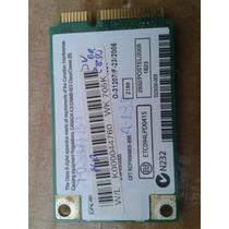 Placa Wireless Rede S/ Fio Notebook Toshiba A-135-s4487