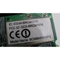 Placa Mini Pci Wireless Notebook Acer Aspire 3610 Wi-fi Mp