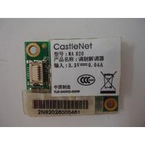 Placa Modem Pci Castle Net Modelo Ma820