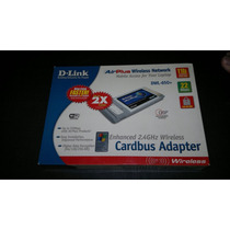 Placa Pcmci Wireless Dlink Airplus Dwl-650+