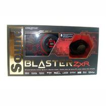 Placa De Som Creative Sound Blaster Zxr Pcie Sb1510