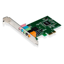 Placa Som Multilaser 5.1 Pci Express Hight End Mania Virtual
