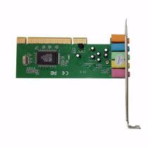 Placa De Som Pci 5.1 Canais 3d Áudio Chipset Cmi8738 - Win8