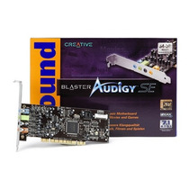 Placa De Som Creative Pci Sound Blaster Audigy Se 7.1 Sb0570