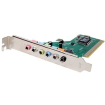 Placa De Som 7.1 Canais Pci Enm232-8via Encore Surround