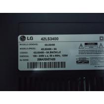 Peças E Partes Tv Lcd Lg 42ls3400-sa