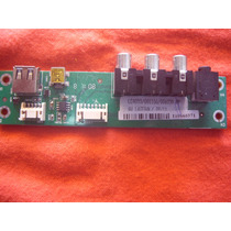 Placa Av/usb Lateral Tv Lcd Semp Toshiba Lc4055fda