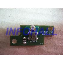 Placa Botão Power Sj-a1546-01 Fujilink Fu1501 Funcionando