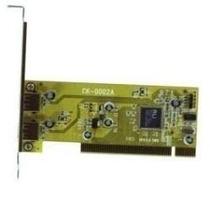Placa Pci 2 Usb Portas Adaptador Conversor Placa Mae Pc Nova
