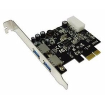 Placa Usb 3.0 - 5gb/s Pci-e Com 2 Portas Express 1x - Novo !