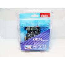 Placa Usb 3.0 Pci Ex. 5gb/s Com 2 Portas