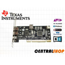 Placa Firewire Pci 1394a Dual Chip Texas Instruments
