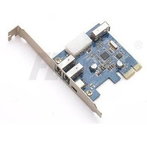 Placa Firewire Pci Express X1 (mini Pci) 4p Cabo Low Profile