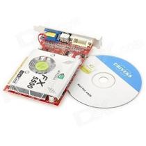 Placa De Vídeo Agp Geforce Fx5500 256 Mb 128 Bits Tv Nvidea
