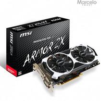 Placa De Vídeo 2gb Gddr5 Radeon R9 380 Msi 256 Bits + Nf-e