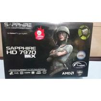 Placa De Video Sapphire Radeon 7970 Hd Gddr5 384 Bits