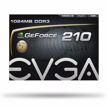 Placa De Vídeo Geforce G 210 1gb Ddr3 Evga!!!