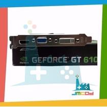 Placa Vídeo Vga Geforce Gt 610 2gb Ddr3 64 Bit Pci-exp 3.0