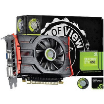 Placa De Video Geforce Nvidia Gtx 650 2gb Gddr5 128 Bits Vg