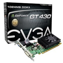 Placa De Video Evga Geforce Gt430 1gb Ddr3 Oferta!!!!