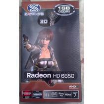 Placa De Vídeo Radeon Sapihire Hd 6850