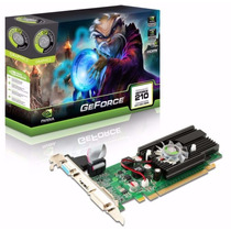 Placa De Vídeo Nvidia Point Of View Gt210 1gb Ddr2 64bits