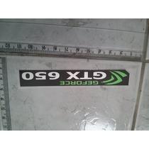 Gtx 650 Geforce Nvidia Adesivo Metalico Tenho +100 Modelos