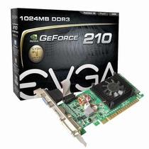Placa De Vídeo Evga Geforce Gt 210 1gb Ddr3 Pci-e 2.0 01