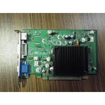 Placa De Vídeo Geforce 6200tc Evga 16mb Turbocache 128mb