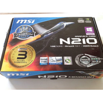 Placa De Vídeo Msi N210 Md1gd3h