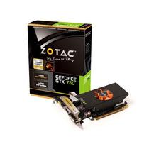Placa De Vídeo Geforce Zotac Nvidia Gtx-750 Lp 1gb Ddr5