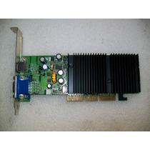 A313 Nvidia Geforce Fx5200 Agp 64mb Com Video Componente