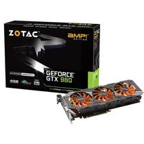 Geforce Zotac Gtx Entusiasta Nvidia Gtx 980 Amp! Edition 4g