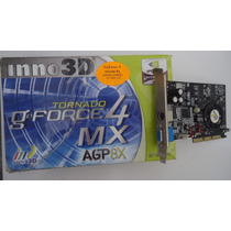 Placa Video Geforce4 Mx440-8x 64mb 128bit Ddr Sdram Tv+ddr