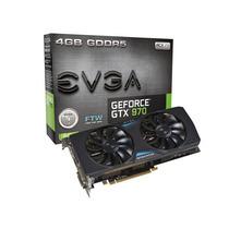 Geforce Evga Gtx Entusiasta Nvidia Gtx 970 Ftw Acx 2.0 4gb