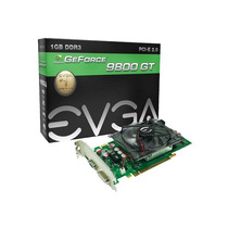 Placa De Vídeo Geforce Evga Nvidia 9800gt 1gb Ddr3 256bits