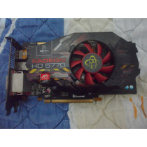 Placa De Vídeo Amd Ati Xfx Radeon Hd 5770 1gb Ddr5
