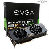 Placa Vga 6gb Evga Geforce Gtx 980ti Sc Acx2.0 384bits Gddr5